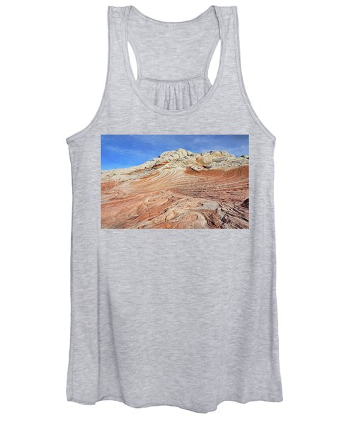 Solid Waves Pano Women's Tank Top