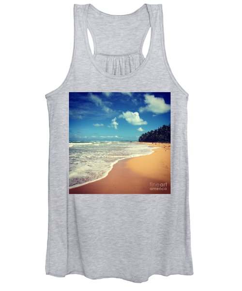 Solitude Beach Women's Tank Top