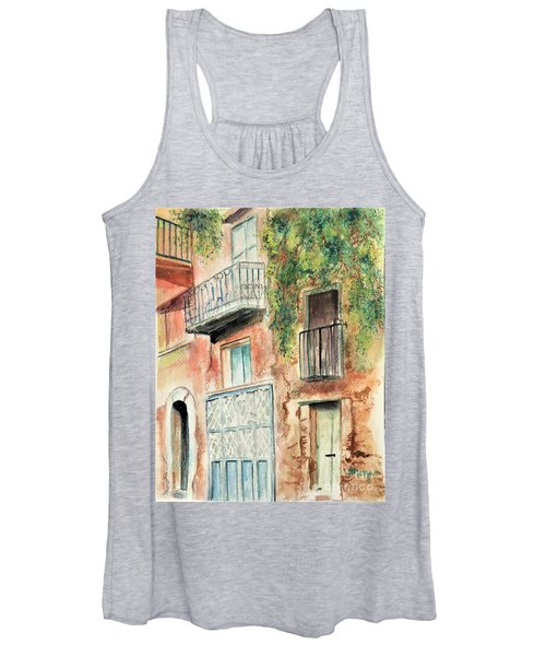 Sorrento Charm Women's Tank Top