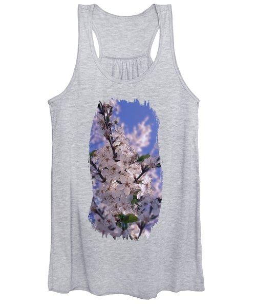 Sour Cherry Tree Blue Sky Women's Tank Top