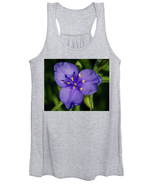 Spiderwort Flower Women's Tank Top
