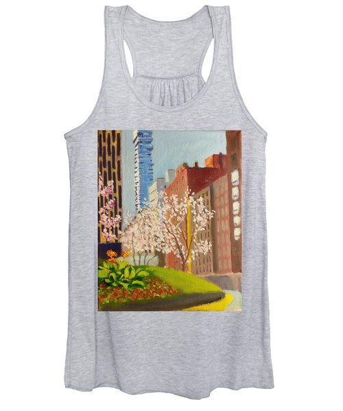 Spring In Worth St Women's Tank Top