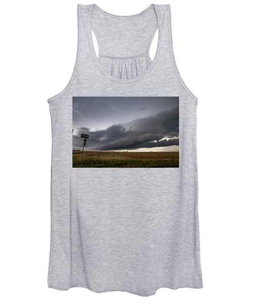 Storm Chasin In Nader Alley 004 Women's Tank Top