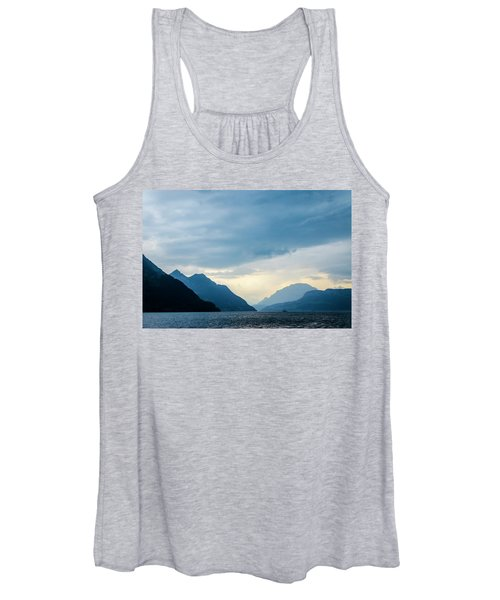 Storm Clouds On Lake Lucerne Women's Tank Top