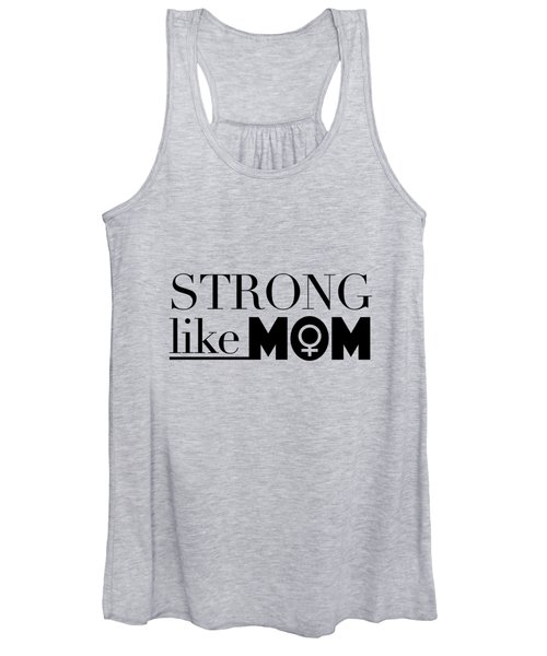 Strong Like Mom Women's Tank Top