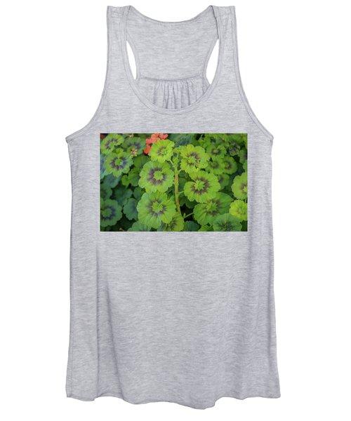 Summer Leaves Women's Tank Top