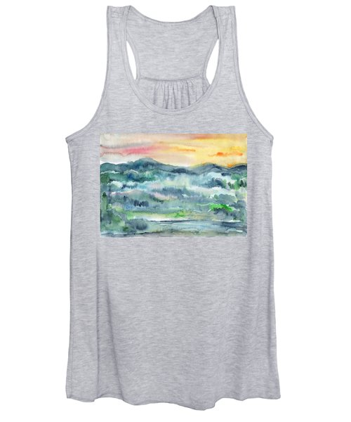 Summer Sunset Women's Tank Top
