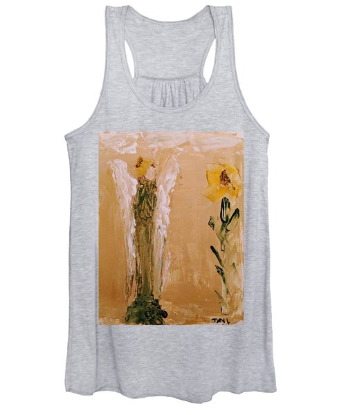 Sunflower Angel Women's Tank Top