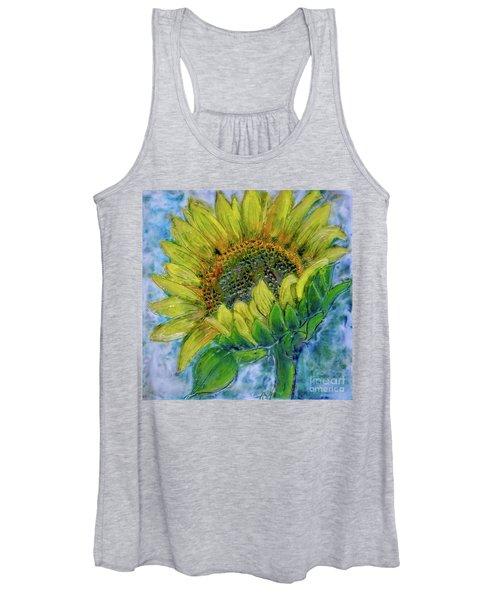 Sunflower Happiness Women's Tank Top