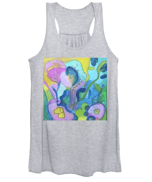 Sunny Day Abstract Women's Tank Top