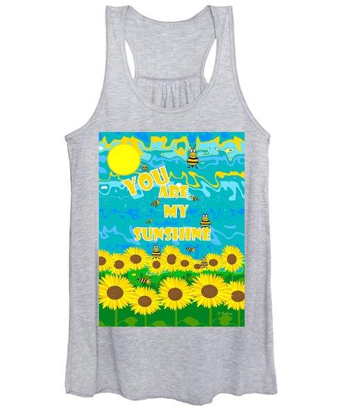 Sunny Sunshine Day  Women's Tank Top