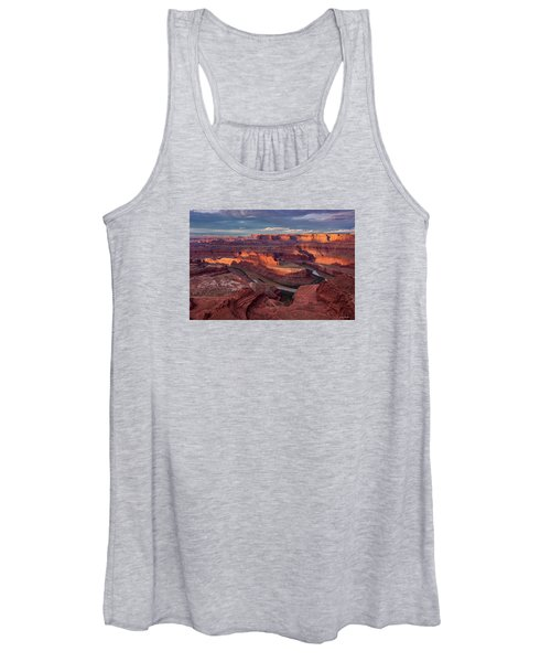 Sunrise At Dead Horse Point State Park Women's Tank Top