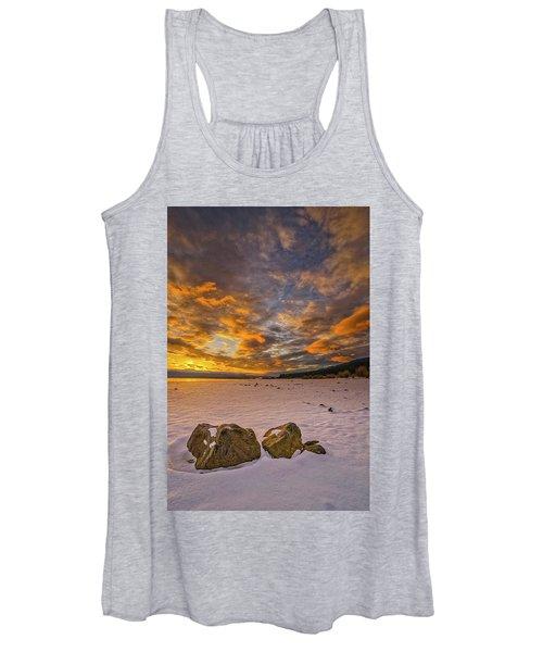 Sunrise Rocks Women's Tank Top
