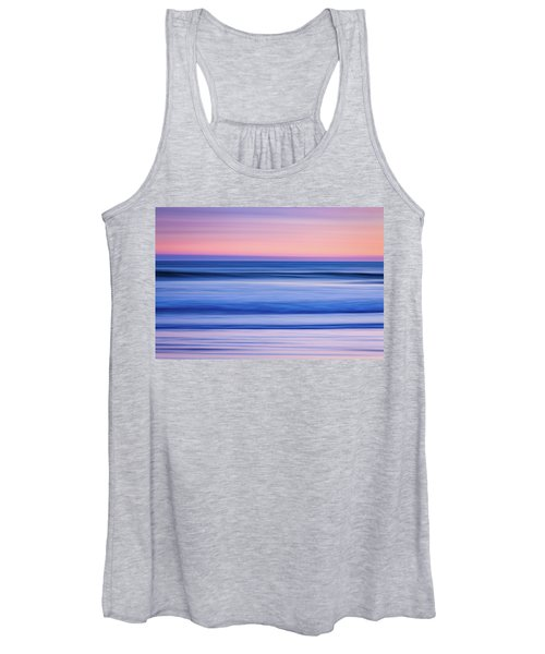 Sunset Abstract Women's Tank Top
