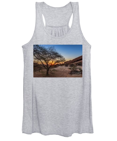 Sunset In Spitzkoppe, Namibia Women's Tank Top