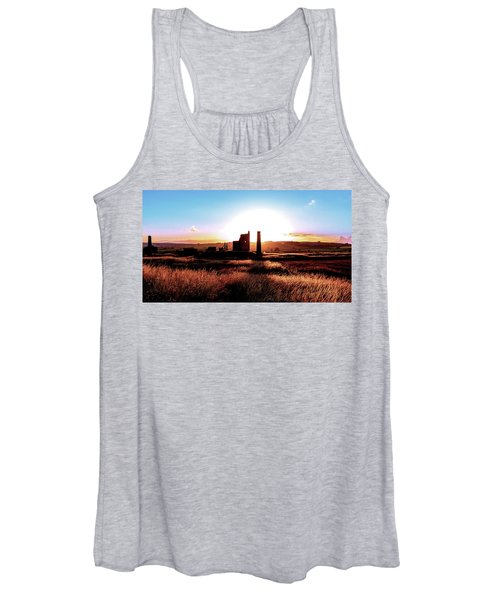 Sunset. Magpie Mine. Women's Tank Top