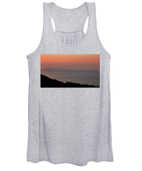 Sunset Of The Olympic Mountains Women's Tank Top
