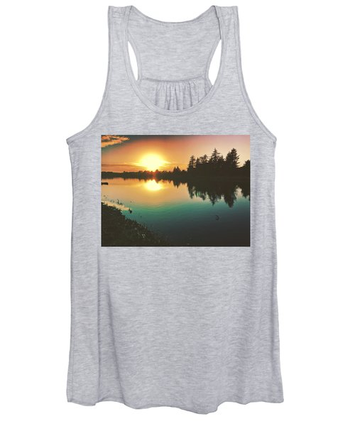 Sunset River Reflections  Women's Tank Top