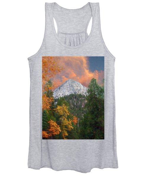 Tahquitz Peak - Lily Rock Painted Version Women's Tank Top