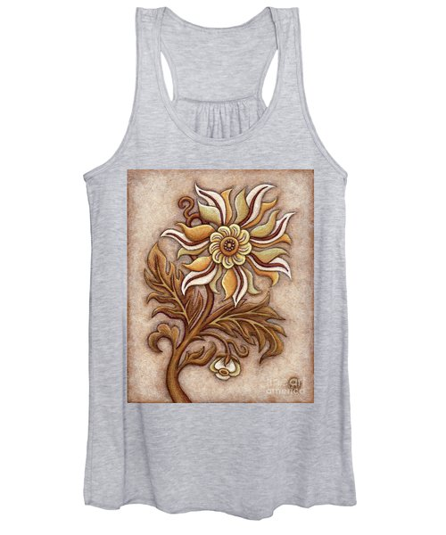 Tapestry Flower 1 Women's Tank Top