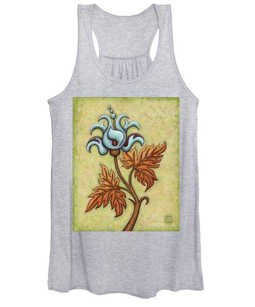 Tapestry Flower 2 Women's Tank Top