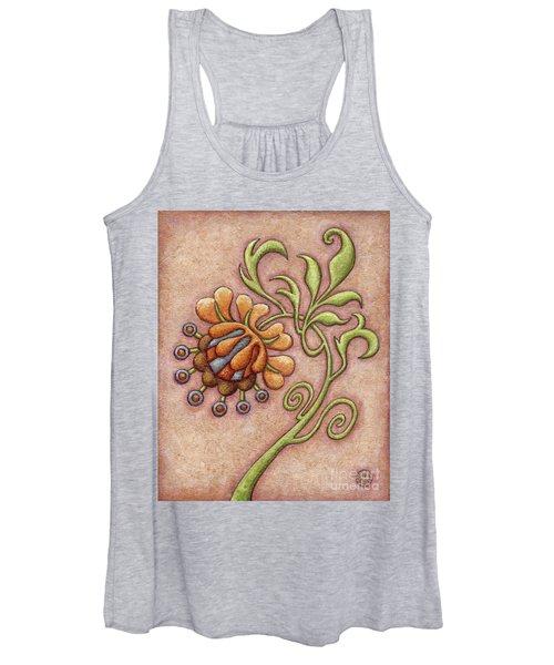 Tapestry Flower 10 Women's Tank Top