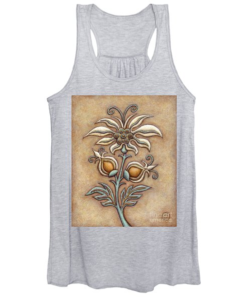 Tapestry Flower 9 Women's Tank Top