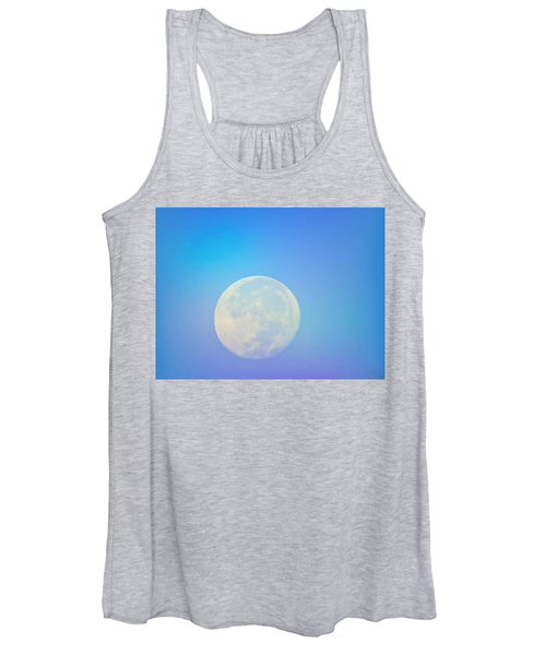 Taurus Almost Full Moon Blend Women's Tank Top