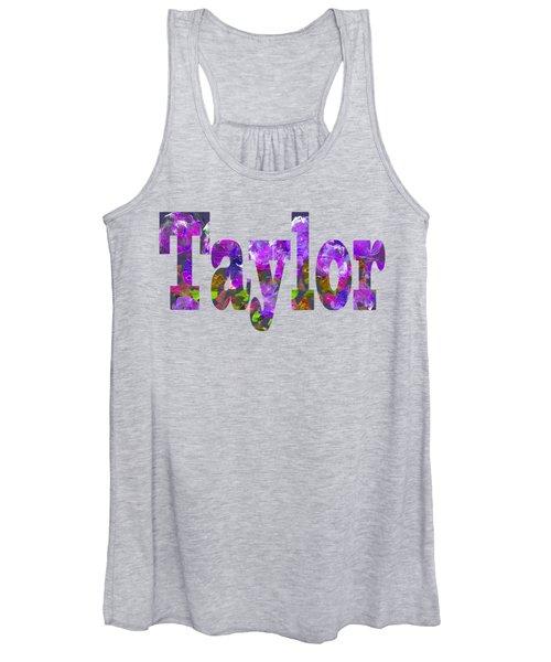 Taylor Women's Tank Top