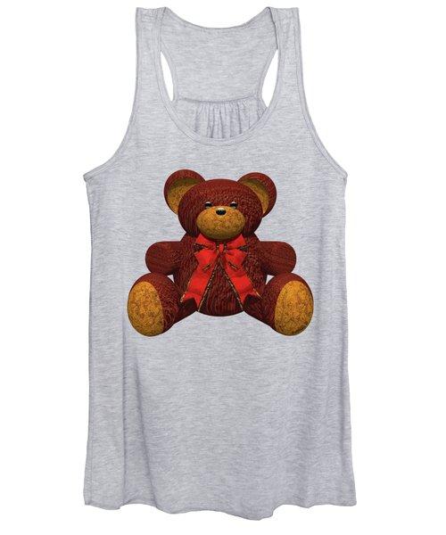 Teddy Bear Women's Tank Top
