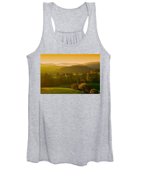 Smokey Mountain Sunrise Women's Tank Top