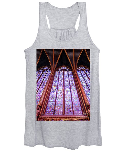 The Awe Of Sainte Chappelle Women's Tank Top