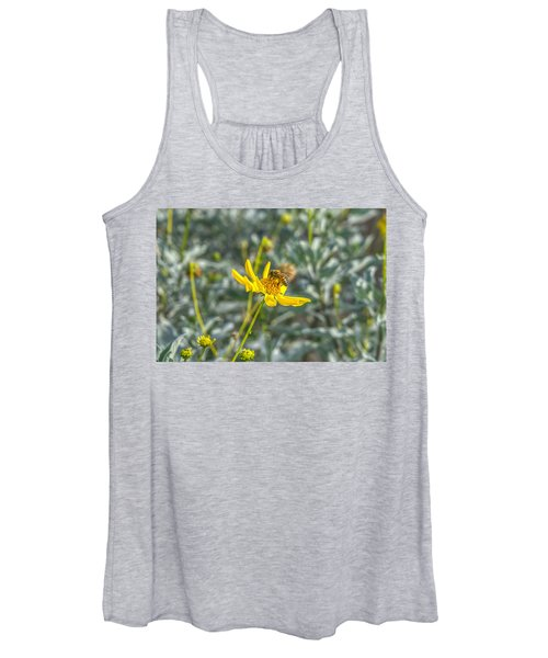 The Bee The Flower Women's Tank Top