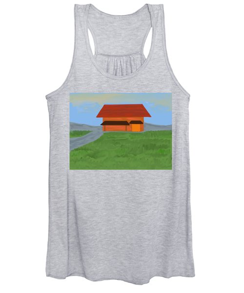 The Best Country Road Diner Women's Tank Top