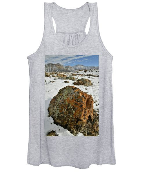 The Book Cliff's Colorful Boulders Women's Tank Top