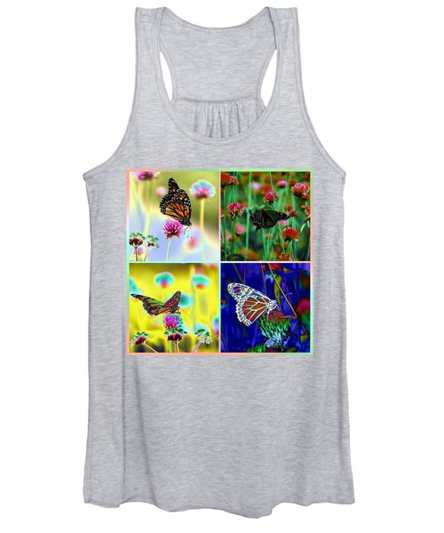 The Butterfly Collection 1. Women's Tank Top