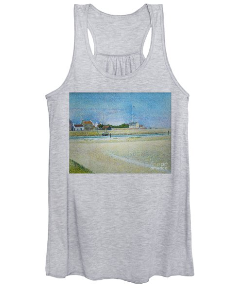 The Channel Of Gravelines Grand Fort Philippe Women's Tank Top