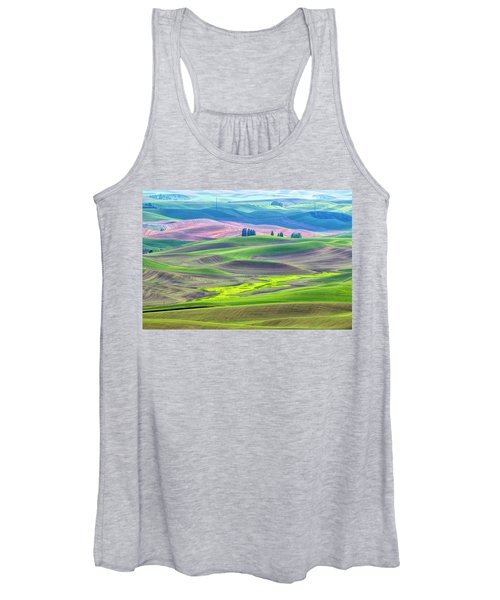 The Color Palette Of The Palouse Women's Tank Top