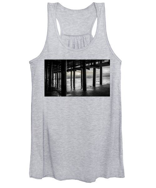 The Light Downunder - B And W Women's Tank Top
