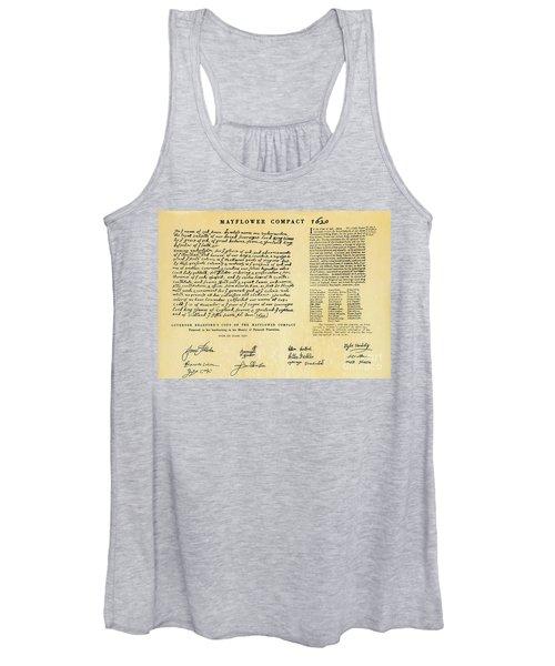 The Mayflower Compact  Women's Tank Top