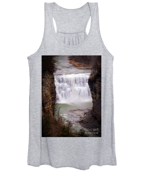 The Middle Falls Women's Tank Top