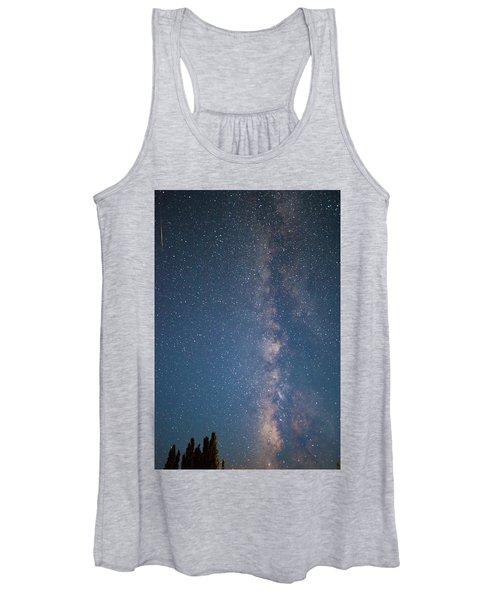 The Milky Way In Arizona Women's Tank Top