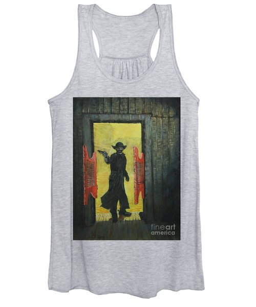 The Red Saloon Doors.....what Next Women's Tank Top