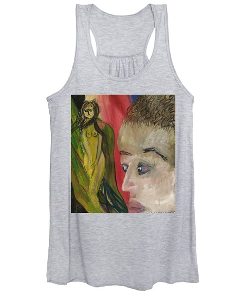 The Sexy Man With The Watery Blue Eyes Women's Tank Top