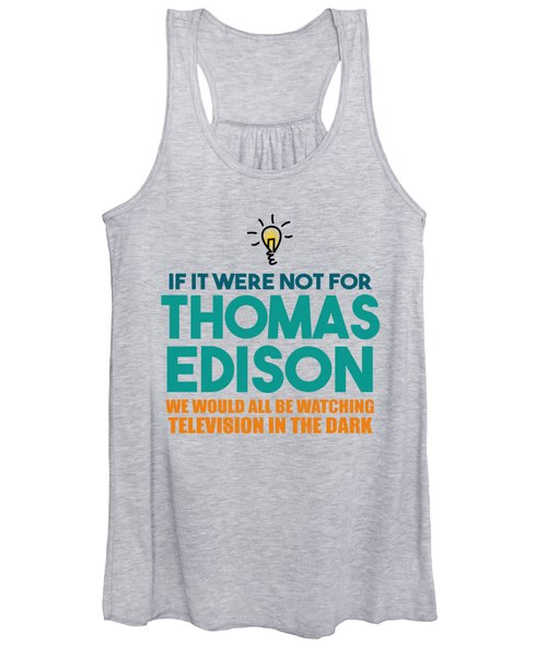 Thomas Edison Women's Tank Top