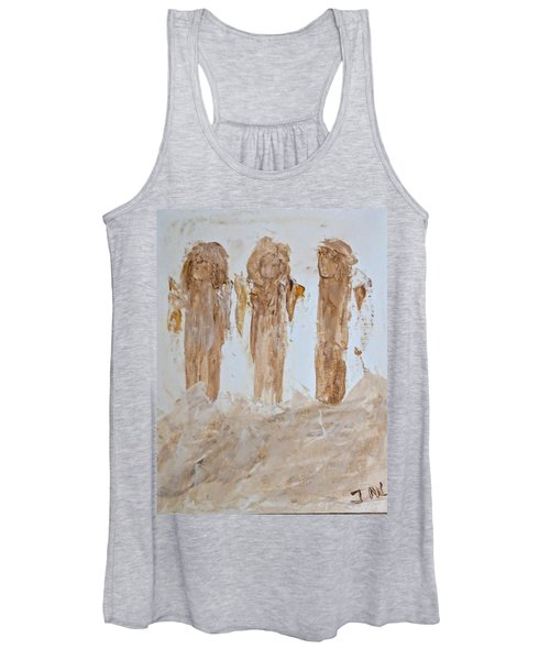 Three Little Muddy Angels Women's Tank Top