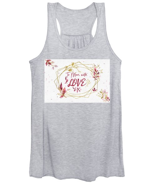 To Mom, With Love Women's Tank Top