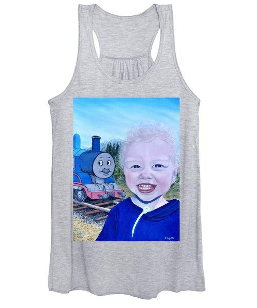 Train Women's Tank Top