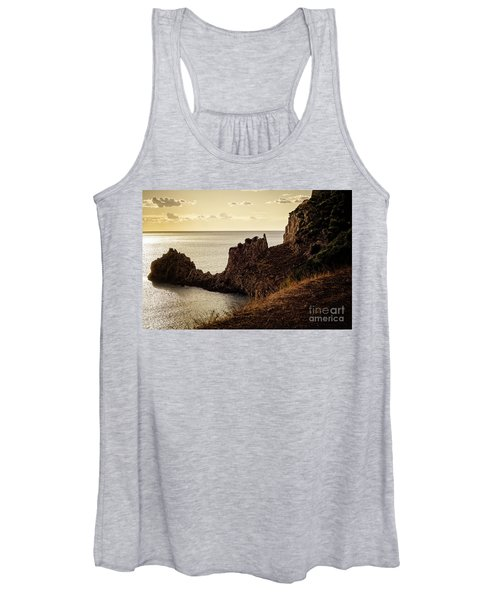 Tranquil Mediterranean Sunset    Women's Tank Top