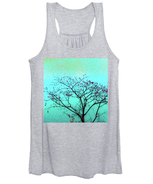 Tree And Water 1 Women's Tank Top